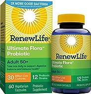 Renew Life Ultimate Flora50+成人益生菌- 300億- 60粒膠囊