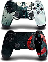 贴花时刻 2 件装常规 PS4 控制器皮肤贴花贴纸封面乙烯基动漫 Uchiha