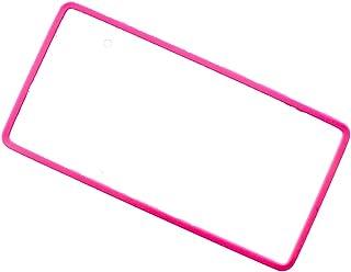 AWESOME 车牌框架硅胶套 粉色AS-NPC-04