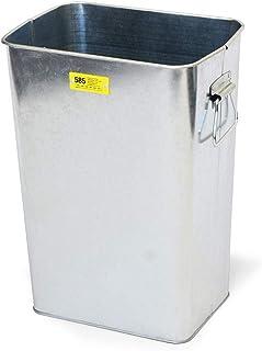 Antrex b.c.lGalva Trash Cann 13L 银色 垃圾箱 垃圾桶 垃圾 垃圾 垃圾 垃圾 垃圾箱 垃圾 垃圾 垃圾 垃圾桶 桌子周长 清洗 方形 13L 钢 8688