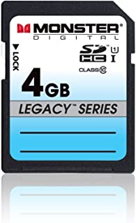 Monster Digital SDHC Full Size SD Memory Card Legacy Series (SDFSA-0004-L)