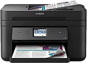 Epson 爱普生 Workforce WF-2865DWF 4800 x 1200DPI 喷墨 A4 33 页每分钟 WLAN 多功能设备(喷墨,彩色打印,4800 x 1200 DPI,A4,直接打印,黑色)