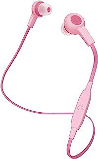 Elecom宜丽客 Bluetooth 蓝牙耳机 无线 平线 φ9mm动态驱动 1键操作简单连接LBT-HPC12MPPN3  コンパクトサイズ