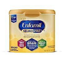 Mead Johnson 美贊臣 NeuroPro嬰兒奶粉-0-12個月,可重復使用的奶粉桶,20.7盎司/約586.84克