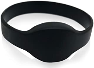 10 个黑色 26 位近距离腕带 AuthorizID Weigand Prox 腕带与 ISOProx 1386 1326 H10301 格式阅读器兼容