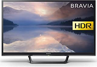 Sony 索尼 Bravia KDL32W6103(32 英寸)HD Ready HDR 智能电视(X-Reality PRO,超薄和流线型设计)- 黑色