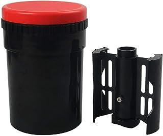 Darkroom Compact Developing Tank 带 4x5 螺旋卷轴 适用于 B&W 彩色胶片处理设备 4x5 英寸(约 10.2x12.7 厘米)大幅面相机配件