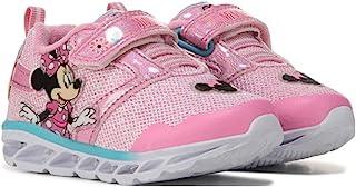 Josmo 女童 Minnie Lighted 运动鞋(幼儿/小孩),尺码 10 幼童,浅粉色
