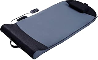 HoMedics Body Flex 背部拉伸垫,带加热,6 种拉伸程序和 3 种强度级别,带可拆卸*泡沫枕头,可全身覆盖,便携式瑜伽、运动员、家庭健身房