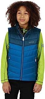Regatta Freezeway II B / W 青少年无袖背心,轻便隔热,带反光图案,适合儿童