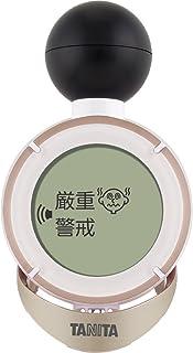 タニタ デジタル温湿度計 コンディションセンサー (炎天下での注意レベルをお知らせ) ゴールド TC-200-GD