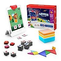Osmo – Genius 入门套件 适用于 iPad + 家庭游戏之夜 – 7 种动手学习游戏适用于拼写、数学等 – 包括 6-10 岁 iPad 底座 – 亚马逊*