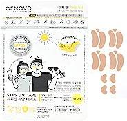 DENOVO 防紫外线胶带*面罩紫外线阻挡户外运动 UPF30+(自然肤色)