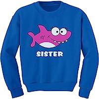 Tstars - 姐妹鲨鱼 Doo Doo 礼物送给大姐幼儿/儿童运动衫