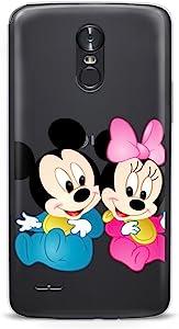 GSPSTORE LG K8 2017 手机壳 Disney 卡通米老鼠硬质塑料保护套适用于 LG K8 2017/LG Aristo/LG V3 MS210/LG LV3/LG Phoenix 3#11