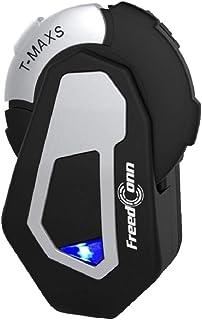 T-MAX S 1000M 6骑手摩托车蓝牙头盔耳机摩托车无线组通信系统耳机