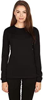 Minus33 美利奴羊毛802 Moriah 女式轻质圆领衫 - 防臭无瘙痒可再生面料