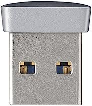 BUFFALO USB3.0对应 微型USB内存 64GB 银色 RUF3-PS64G-SV