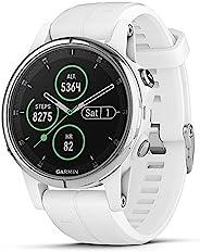 Garmin Fenix 5s Plus, Smaller-Sized Multisport GPS Smartwatch, Features Color TOPO Maps, Heart Rate Monitoring