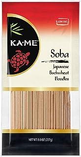 Ka-Me Noodles, Japanese Buckwheat, 8 Oz. Bags, Pack of 72 (400472), Soba, 576 Oz