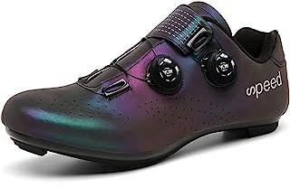 女式 Peloton 自行车鞋 Delta Cleat 自行车鞋 女孩 室内运动 旋转鞋 骑马鞋 Compat Spd Spd-SL 005_紫色 8
