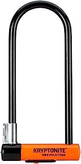 Kryptonite Evolution 系列-4 LS 重型自行车 U 锁自行车锁带运输灵活框架支架(4 英寸 x 11.5 英寸)