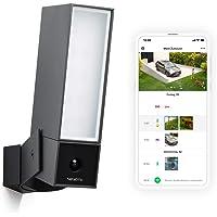 Netatmo 外部智能监控摄像头 Wlan/集成照明,移动侦测,夜视,无需订购,NOC01-DE (含)