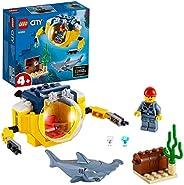 LEGO 乐高 城市系列 迷你海洋潜艇 60263