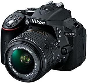 Nikon 尼康 D5300 单反套机(AF-S DX 18-55mm f/3.5-5.6G VR II 尼克尔镜头)黑色