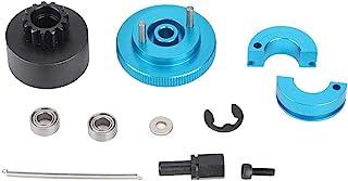 NITRIP 赛车离合器套件,速度离合器套装铃弹簧离合器套装,变速器套装赛车离合器套件 RC 卡车适用于 1/10 RC Nitro Engine(蓝色)