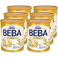 Nestlé 雀巢 BEBA SUPREME 嬰兒奶粉 3段(適用于10月以上兒童),哺乳喂養后續奶粉,6罐裝(6 x 800g)