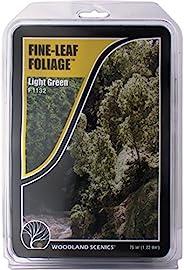 Woodland Scenics 精致叶子 75 平方英寸-浅绿色
