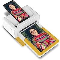 Kodak PD460 相片打印機 10 x 15 厘米 – 藍牙與擴展塢 – 白色和黃色