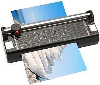 Olympia A240 塑封机 切割机 适用于纸张 可热塑封和冷塑封 DIN A4 便捷款 纸张切割机带圆形边角 切割机包括塑封薄膜套装