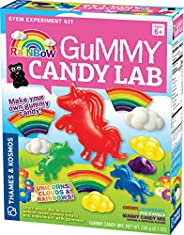 Thames & Kosmos 彩虹软糖实验室 - 独角兽、云朵和彩虹 Sweet Science STEM 实验套装,制作出您自