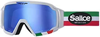 Salice 618ITAED 滑雪护目镜 SR 白色意大利双向通风 ANTIFOG RW 蓝色中性成人描述 安装:白色,UNICA