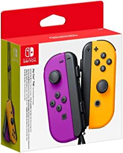 Nintendo 任天堂 Joy-Con手柄 一对装 紫色/橙色(Nintendo Switch)
