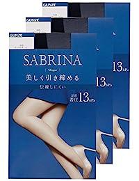 GUNZE 郡是 女士 连裤袜 Sabrina Shape 塑身袜 同色3条装 SB420