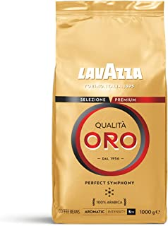 Lavazza 金质咖啡豆,1包装(1 x 1kg)