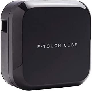 Brother 兄弟 P-touch CUBE Plus 标签机(适用于3.5至24 mm宽的TZe胶带,USB和蓝牙接口)