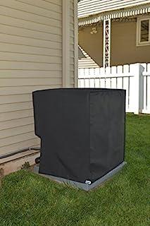 Comp Bind Technology 空调系统防水罩 York 型号 YFE18B21S。 室外黑色尼龙罩,尺寸 60.96 厘米宽 x 60.96 厘米深 x 92.71 厘米高
