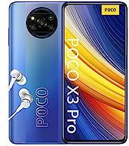 POCO X3 Pro - 智能手机 8+256GB,6.6 英寸 120Hz FHD+ DotDisplay,Snapdragon 860,48MP 四摄像头,5160mAh,霜蓝色(英式版)
