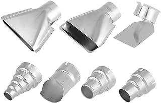 7 件 35 毫米热气枪喷嘴配件,热焊接站维修工具套件收缩包裹焊接配件用于收缩热缩管使用