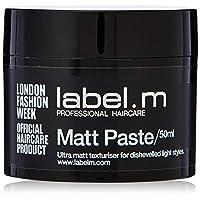 label. M MATT PASTE 50?ml