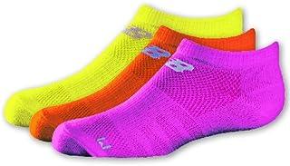 New Balance 儿童中性隐形袜 3 双装 混色 1b 中