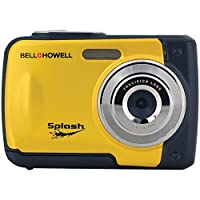 Rokinon Splash WP10-BL 12 防水数码相机,带 2.4 英寸 LCDWP10-Y 12 mp 水溅板 camera 黄色