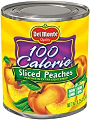 Del Monte 100 Calorie Sliced Yellow Cling Peaches in Extra Light Syrup, 8.25 Ounce (Pack of 12)