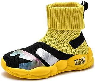 WZHKIDS 中性儿童运动袜鞋,羊毛衬里,适合冬季