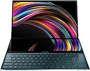Asus 华硕 ZenBook Pro Duo UX581 笔记本电脑,15.6英寸(约39.62厘米)4K UHD NanoEdge边框触摸屏,英特尔酷睿i7-9750H,16GB RAM,1TB PCIe SSD,G