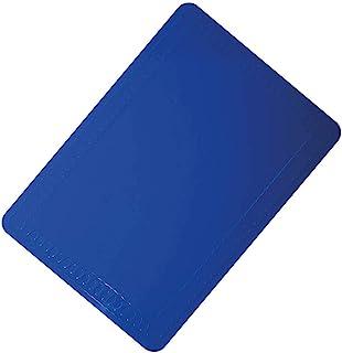 Aidapt 防滑擦拭清洁耐热硅胶桌垫 350x250 毫米 蓝色